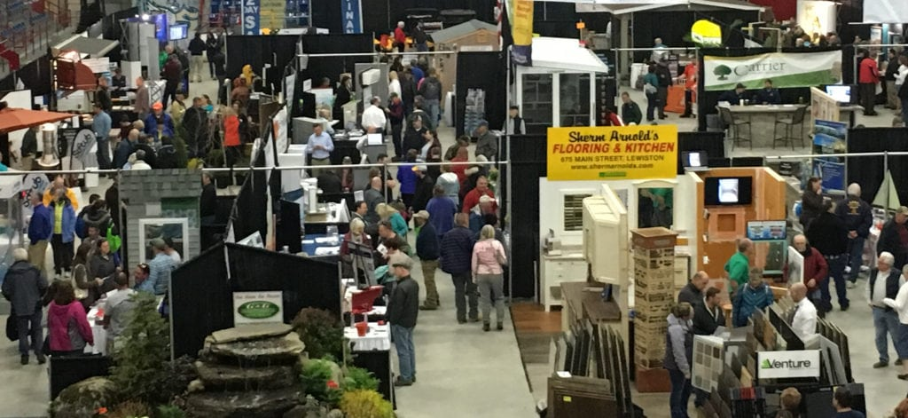 maine home show in lewiston maine